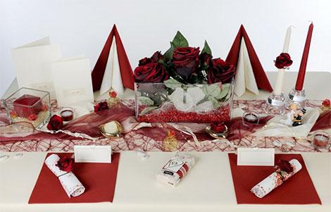 Tischdekoration fr die Hochzeit selbst machen