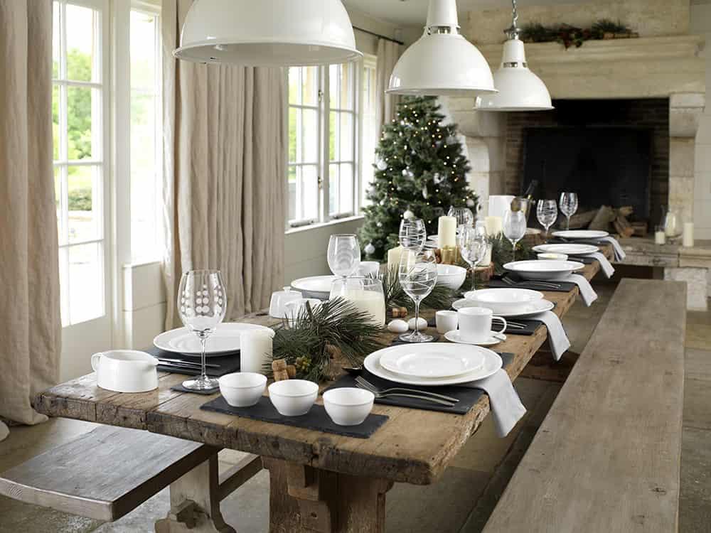 Ideen fr eine weihnachtliche Tischdeko  kreativLISTE