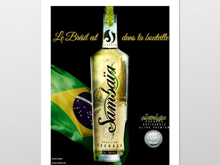 Cédric Darrigrand Graphiste Mimizan Landes 40 - Affiche- Sambaïa
