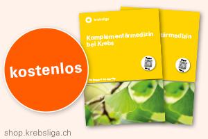 "Broschüre ""Komplementärmedizin bei Krebs"""