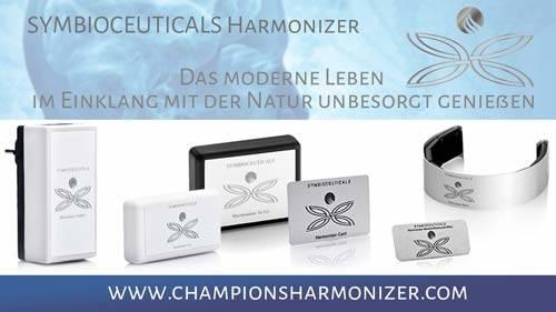 Das moderne Leben unbeschadet und sicher genießen mit EMF Schutz und Schadwellen Schutz etc. mit Champions Harmonizer Technologie