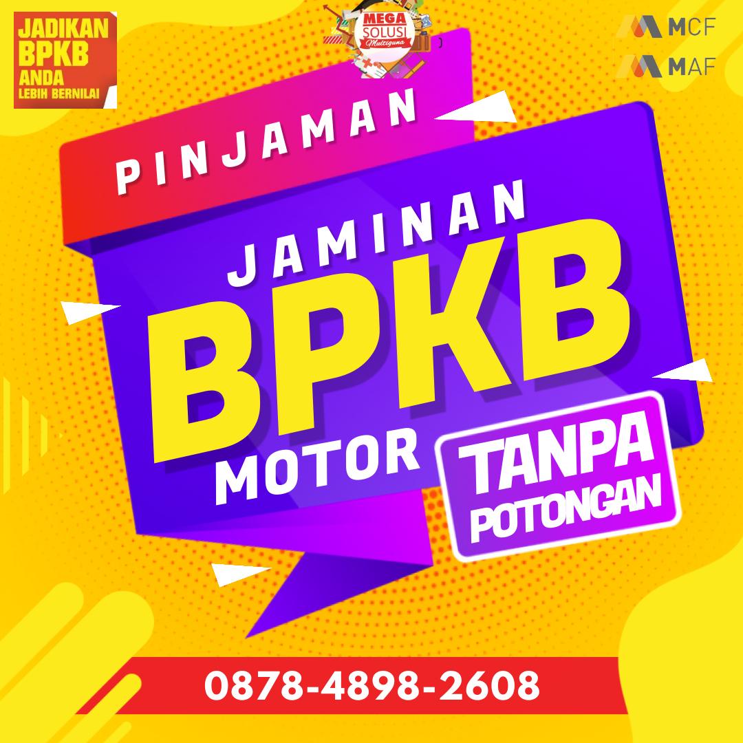 Kredit Jaminan BPKB Motor di Mega Auto Finance