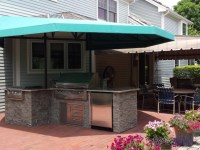 Outdoor Kitchen canopy cover