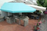 Outdoor Kitchen canopy cover | Kreider's Canvas Service, Inc.