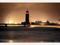 Unwetter ber Bremen und Niedersachsen im Januar