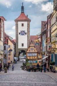 Rothenburg ob der Tauber - Siebersturm