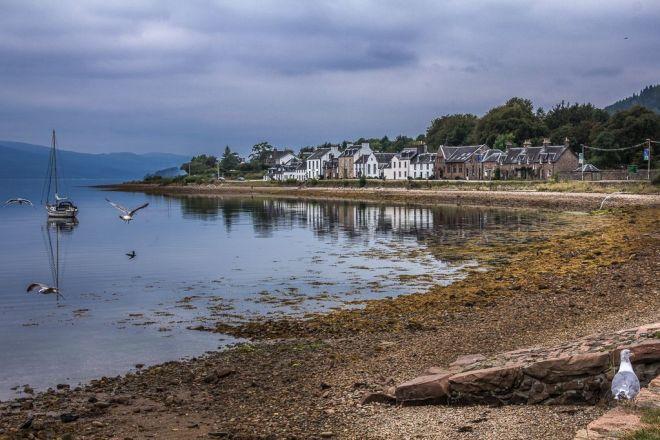 Schottland - Inveraray - Loch Fyne