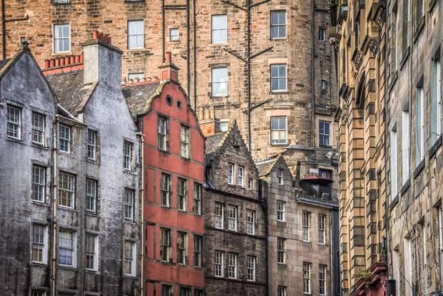 Schottland - Edinburgh - W Bow