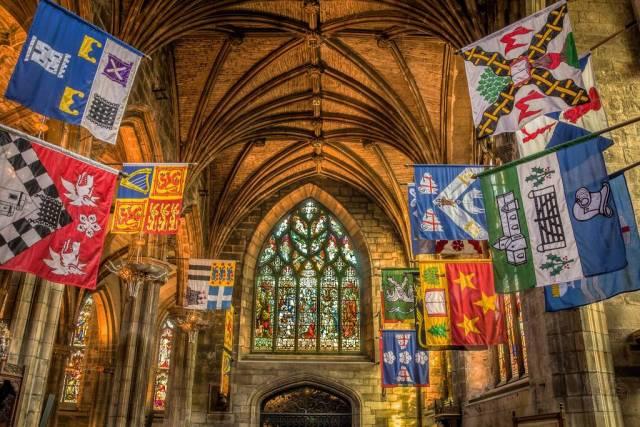 Schottland - Edinburgh - St Giles' Cathedrall