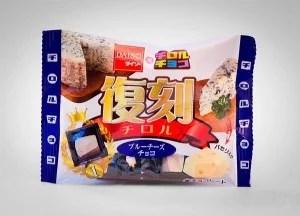 Japan U2013 Süßigkeiten / Snacks U2013 Blauschimmel Käse Schokolade