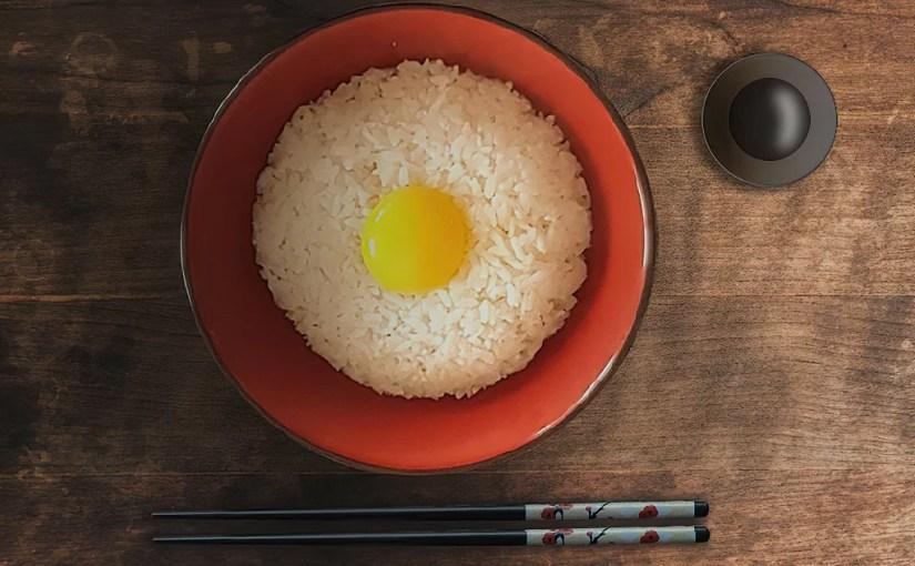 Japan – Essen -Tamago kake gohan