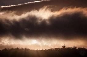 Australia - Tasmania - Bicheno - Storm in the Sky