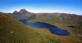 Australia - Tasmania - Cradle Mountain - From Air
