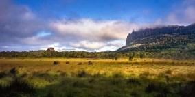 Australia - Tasmania - Cradle Mountain Lake St Clair NP - Mt Oakleigh