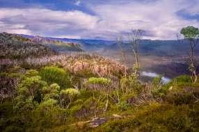 Australia - Tasmania - Cradle-Mountains-Lake St Clair National Park - View from Mt Oakley