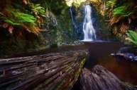 Australia - Tasmania - Strahan - Hogarth Falls