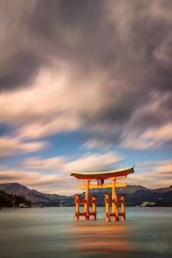 Japan - Hiroshima - Miyajima - Torii