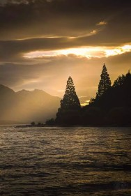 New Zealand - Sunset Queenstown