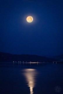 Japan - Kyoto - Amanohashidate - Full Moon
