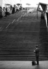 Street Photography - Japan - Stairs Maybe The Big Climb