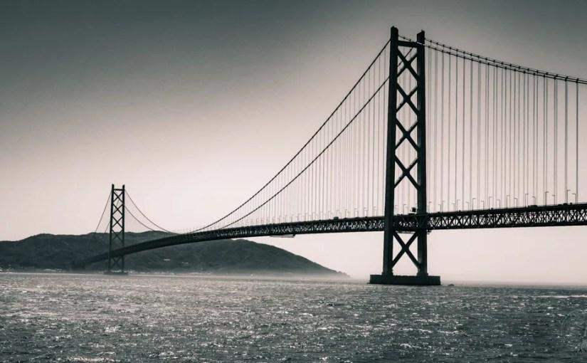 Japan (2018) – Kobe – Maiko Marine Promenade & Akashi Brücke