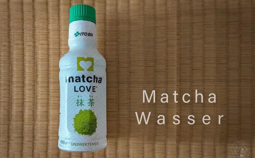 Japan (2020) – Trinken – Matcha Wasser
