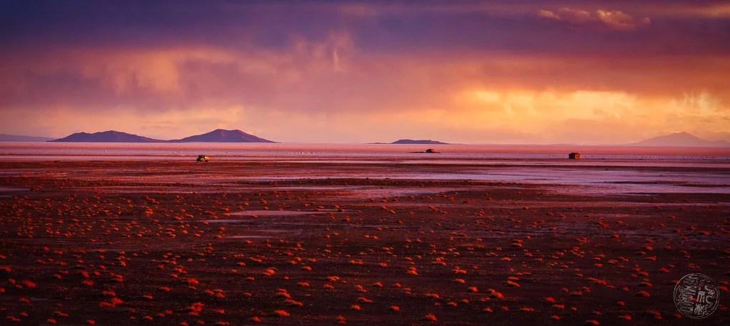 Bolivia - Salar de Uyuni - Sunset