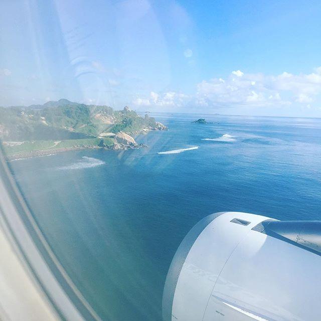 Paradise touchdown #seychelles