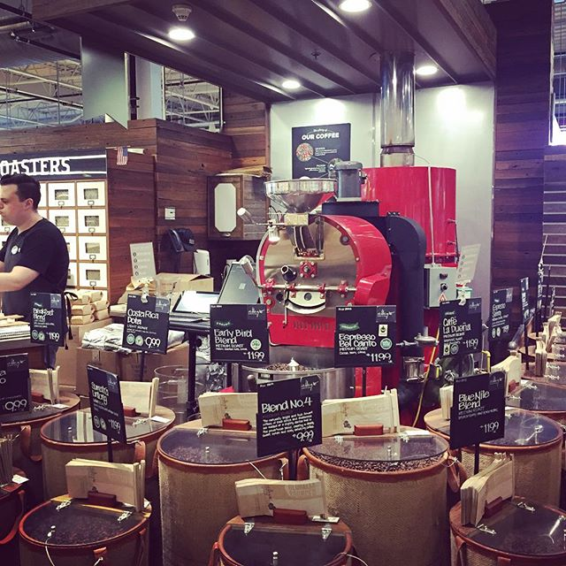 There is even coffee roasting here! #wholefoods goes #thirdwave