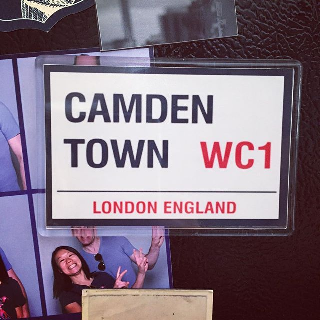 New magnet friends brought from London #thanksboydandpriya #camdentown