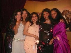Glamour=Vinky, Khush, Priyanka, Charlotte, and me!
