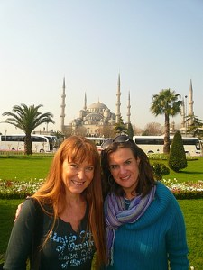 Here we are with the Aya Sofia in the backdrop.