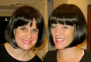 I think it's safe to say we felt pretty tempted to cut and dye our hair like this. We really felt fabulously chic!