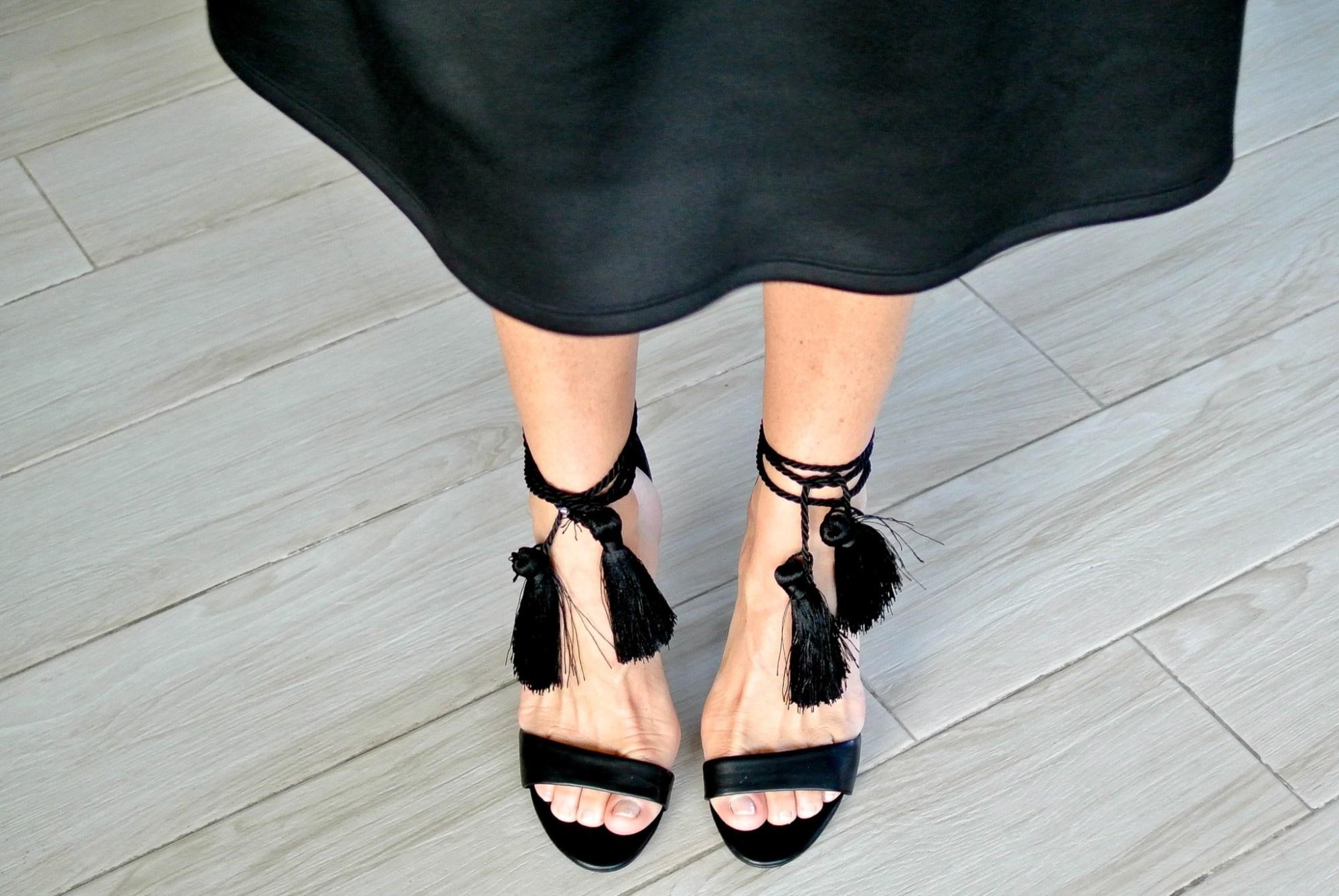 DIY Tassel Heels 7