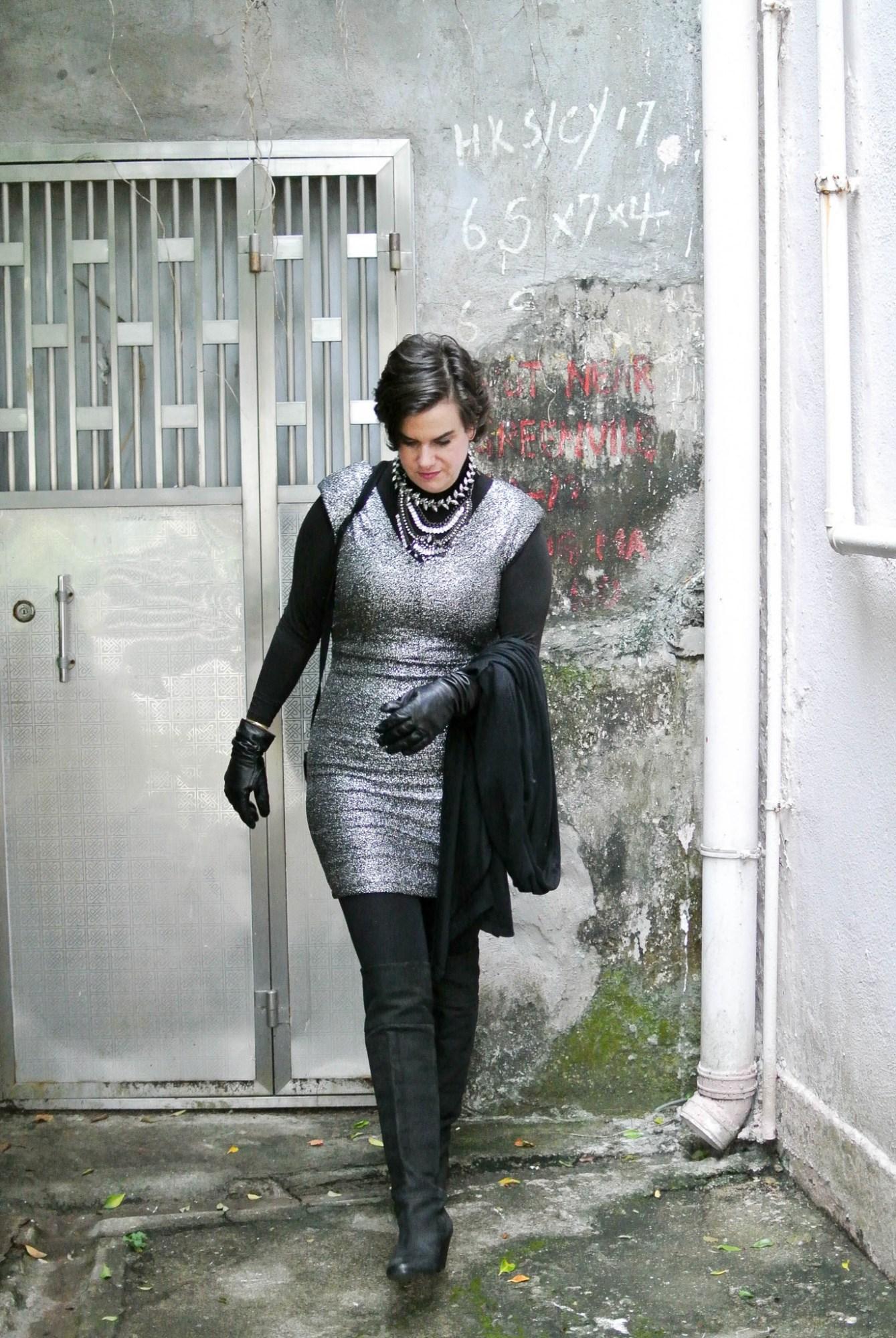 Silver Dress 9