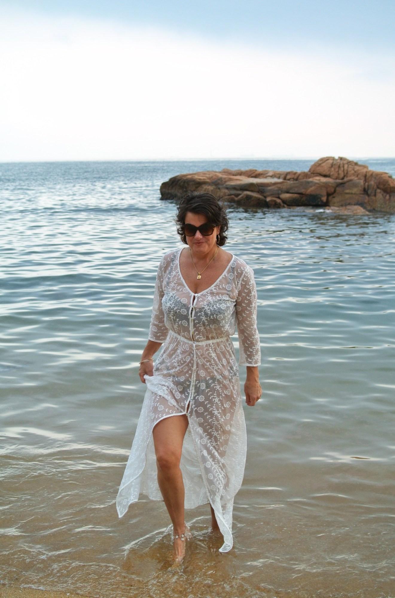 White Maxi Dress - Kremb de la Kremb 3