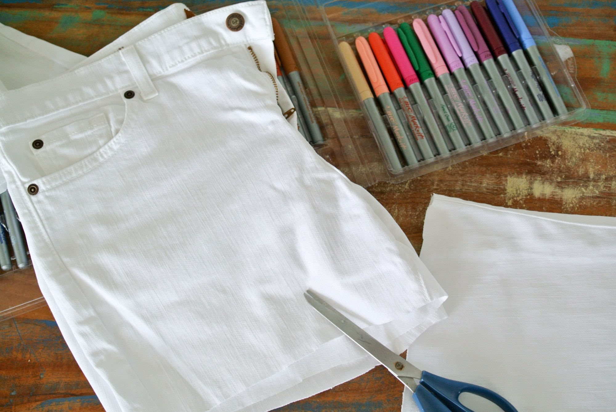 DIY Color Book Jeans  12