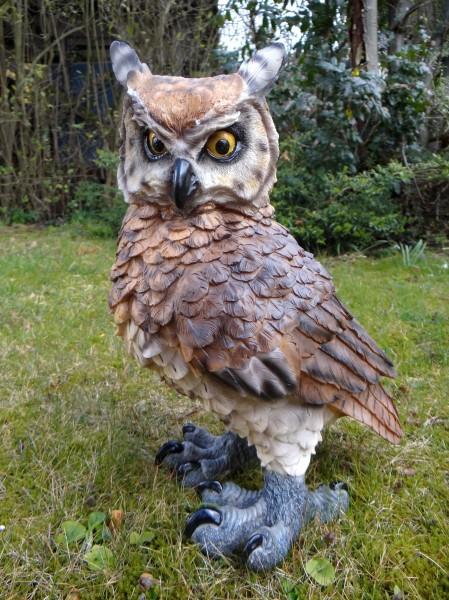 Große Eule Figur Vogel 44 Cm Garten Tierfigur TOP NEU EBay