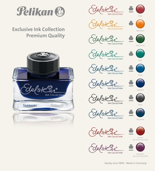 Fount India® Pelikan´s dokumentenechte Tinte!  30ml