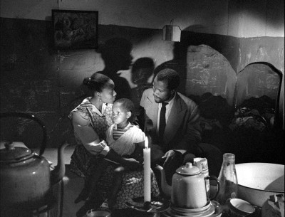 "Photo from the film ""Come Back Africa"", 1959 - USA; Director: Lionel Rogosin; Songs: Miriam Makeba."