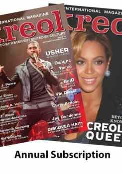 Kreol Magazine Annual Subscription