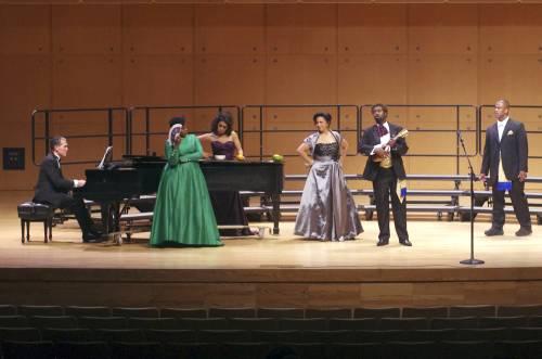 Performance at Illinois State University. Photo: GivonnaJoseph