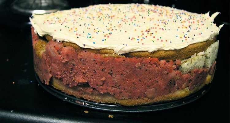 Russian Cake, known as Creole Trifle