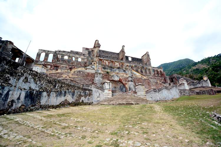 The Sans-Souci Palace was the Royal Residence of King Henri I of Haiti.