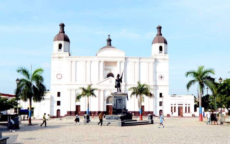 The well-preserved Cathedral Notre-Dame of Cap-Haïtien.