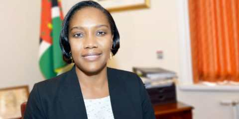 Francine Baron- High Commissioner for Dominica to the UK