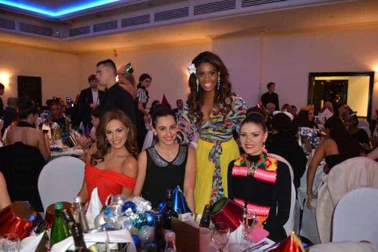 Camila Estico represents Seychelles at the Miss World 2014 Competition