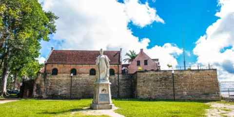 The historic inner city of Paramaribo, Suriname, is a UNESCO World Heritage Site since 2002. Photo: Anton_Ivanov