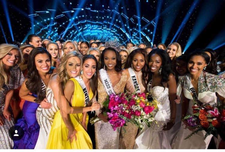 Maaliyah Papillion winning Miss Louisiana USA