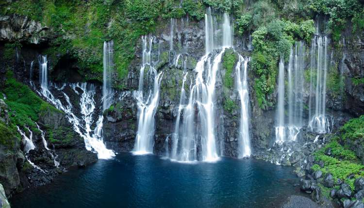 Waterfalls of the Reunion island